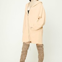 Fleece Hooded Zip-Up Jacket