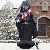 Inflatable Christmas Darth Vader
