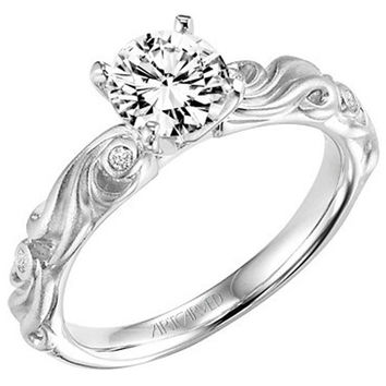 "Artcarved ""Hayley"" Diamond Engagement Ring"