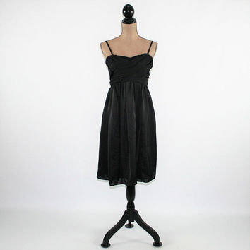 Sexy Black Dress Medium Cocktail Dress Party Dress Spaghetti Strap or Strapless Dress Midi Dress Womens Clothing
