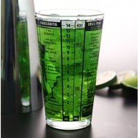 Mix Master Measuring Mixing Glass
