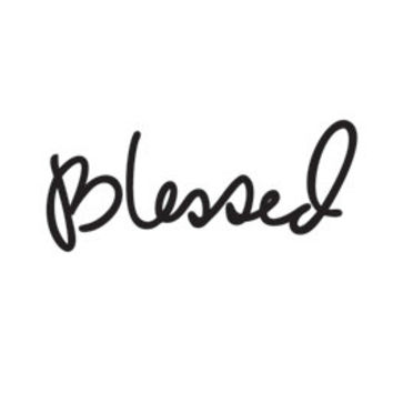 temporary tattoo, blessed handlettered tattoo, christmas stocking stuffer, black friday cyber monday sale, happytatts