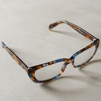Quintana Reading Glasses by Anthropologie in Brown Motif Size: