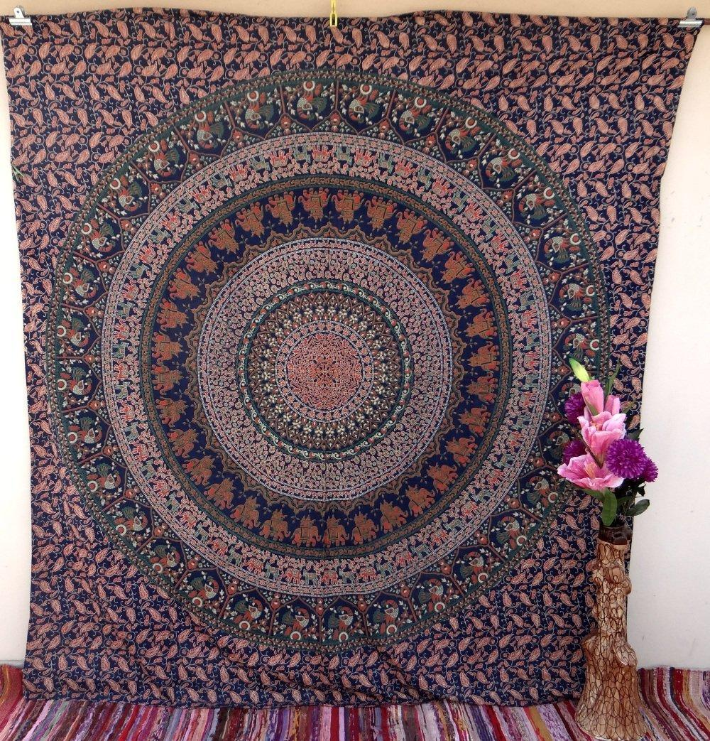 Large Indian Mandala Tapestry Hippie from Amazon