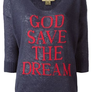 Wildfox 'God Save The Dream' sweater