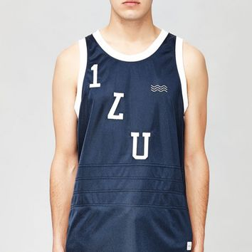I Love Ugly - Navy Basketball Jersey