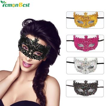Party Mask Women Masquerade Masks Gorgeous Glitter Venetian Mask Sexy Women Eye Masquerade Masks for Carnival Halloween Costume
