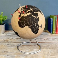 Mini cork globe - All Desk Accessories - Desk Accessories - Stationery