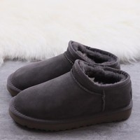 Women's and men's UGG warm cotton shoes ankle boots _1686248855-032