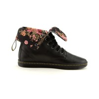 Womens Dr. Martens Eclectic Rolldown Boot, Black | Journeys Shoes