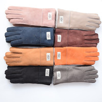 UGG Leather Winter Gloves [9516599495]