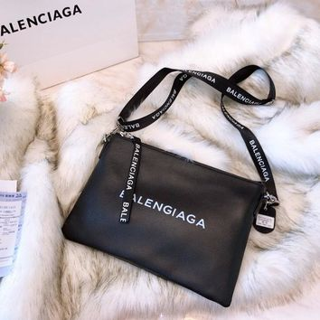 Balenciaga Leather Pouch Shoulder bag