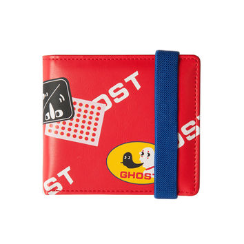 Red Monster Folded Wallet