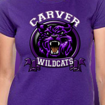 Carver Wildcats Banner T-Shirt
