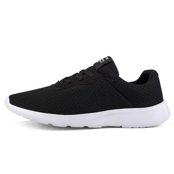 2018 Ultra-Light Mesh Breathable Men Running Shoes Athletic Trainer Male Sport Shoes Outdoor Sneakers Platform dropshipping