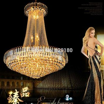 Flush Mounted Crystal Ceiling Light Modern Chrome Crystal Chandelier Classic Gold Crystal Chandelier Light Fixtures