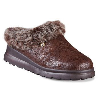 Skechers BOBS Cherish Snow Bunny Slippers - Women's