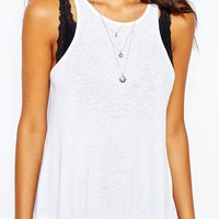Free People Long Tank Lounge Top