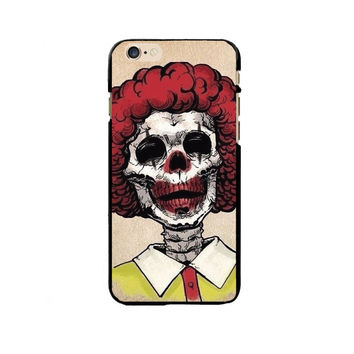 Skeleton Ronald McDonald Painting Exquisite PC Phone Case Cover Shell For Apple iPhone 5/5S/SE