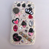 Custom Decoden Galaxy S3 Case by KristaRaeArt on Etsy