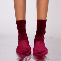 Velvet Sensation Sock | Red