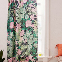 Laurel Kimono Floral Blackout Window Curtain | Urban Outfitters