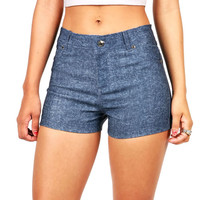 Hot Hue High Waist Shorts