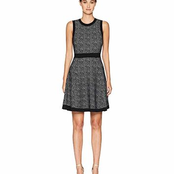 Kate Spade New York Out West Mod Plaid Sweater Dress