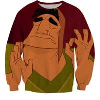 Emperors New Groove Meme Sweater