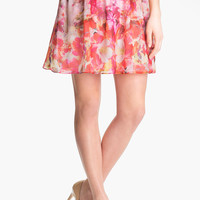 Vince Camuto 'Corsage Floral' A-Line Skirt | Nordstrom