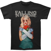 Falling In Reverse Men's  Coffin Girl Album Slim Fit T-shirt Black