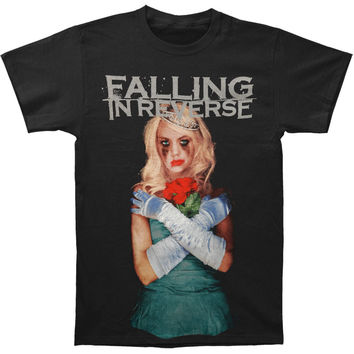 Falling In Reverse Men's  Coffin Girl Album Slim Fit T-shirt Black Rockabilia