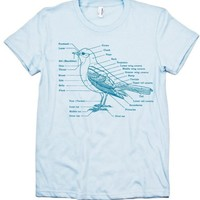 Bird Anatomy T-shirt