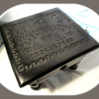 """""""Spirit Board"""" Altar Table with Drawer"""