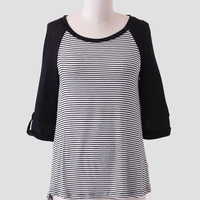 Bonsoir Stripe Top