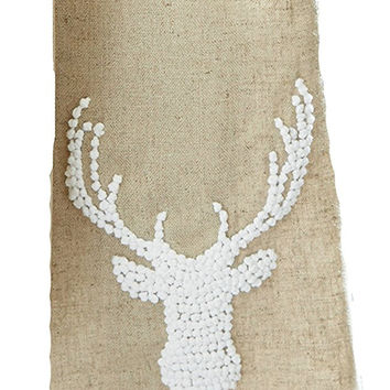 Deer Antler Towel by Mud Pie