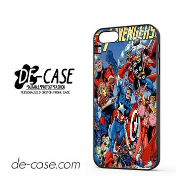 Avengers Marvel DC Comics DEAL-1213 Apple Phonecase Cover For Iphone 5 / Iphone 5S