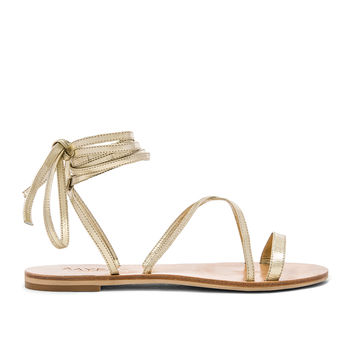 RAYE Sadie Gladiator Sandal in Gold