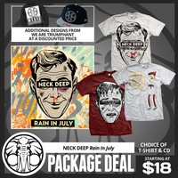 Neck Deep: Rain In July Package