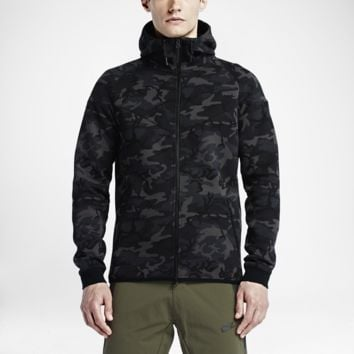 Nike Tech Fleece Windrunner Camo Men's Hoodie