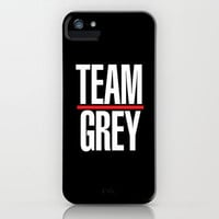 Greys Anatomy: TEAM GREY iPhone & iPod Case by drmedusagrey