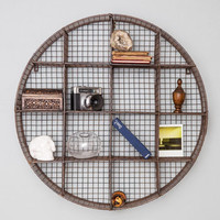 ModCloth Dorm Decor Lost and Round Wall Shelf
