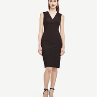 All-Season Stretch Seamed Sheath Dress | Ann Taylor