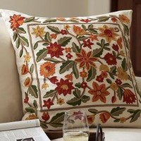 Cara Embroidered Pillow Cover
