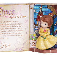 New PRECIOUS MOMENTS DISNEY Figurine BELLE STORYBOOK Princess BEAUTY BEAST