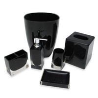 Memphis Toothbrush Holder in Black