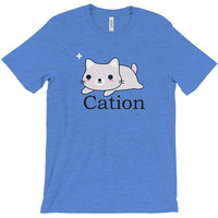 funny cat science t shirt T-Shirt
