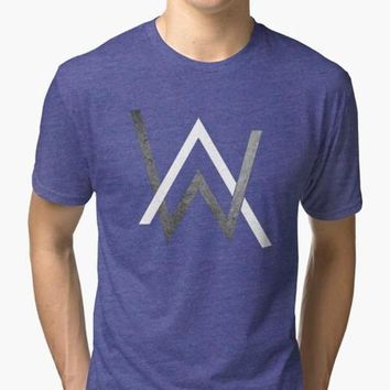 Alan Walker Purple T-shirt