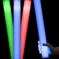Fun Central V11 LED Foam Light Stick Baton Supreme - Multicolor Color Changing