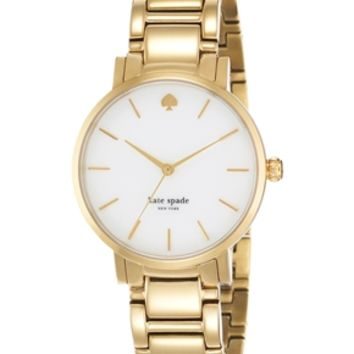 Kate Spade Gramercy Gold Watch - Gold
